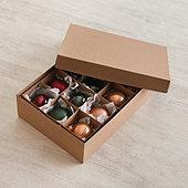 Suzanne Kasler Jeweled Glass Ornaments - Set of 12