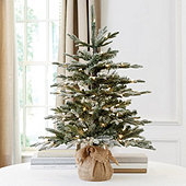 Suzanne Kasler 3' Flocked Frasier Fir Tabletop Tree