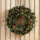 Ballard Classic Prelit Wreath