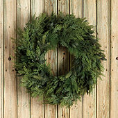 Mixed Cedar Wreath