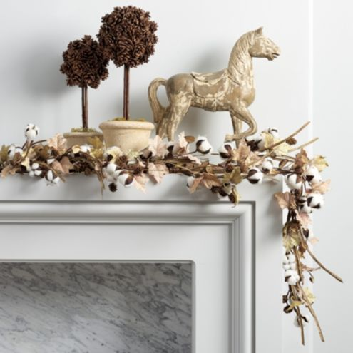 Cotton Stems Garland