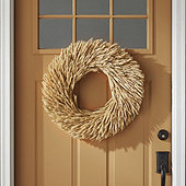 Rye Wheat Wreath