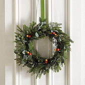 Citrus Thistle Wreath