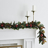 Pomegranate 6' Garland