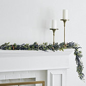 Frosted Blueberry Garland
