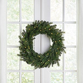 Prelit Grandis Fir Wreath