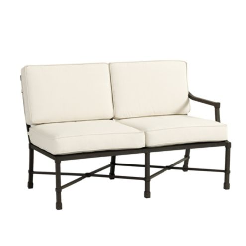 Suzanne Kasler Directoire Right Arm Loveseat with Cushions