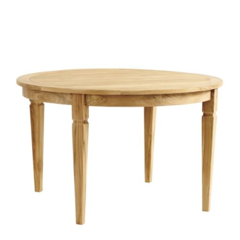 Madison Teak Round Dining Table