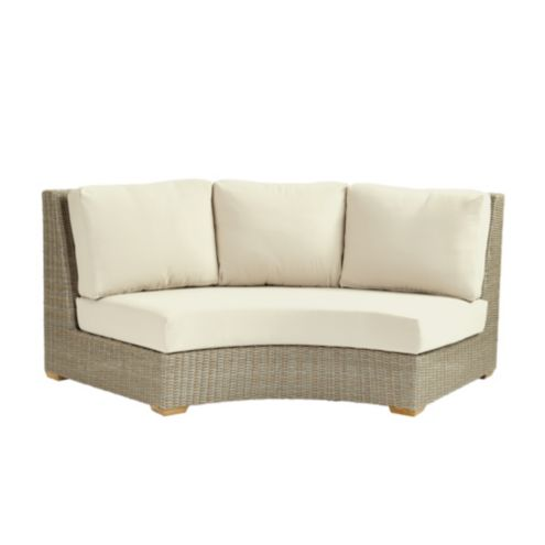Navio Armless Loveseat with Cushions
