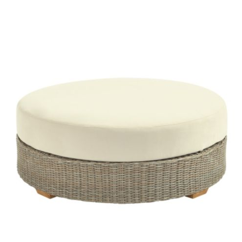 Navio Round Ottoman with Cushion