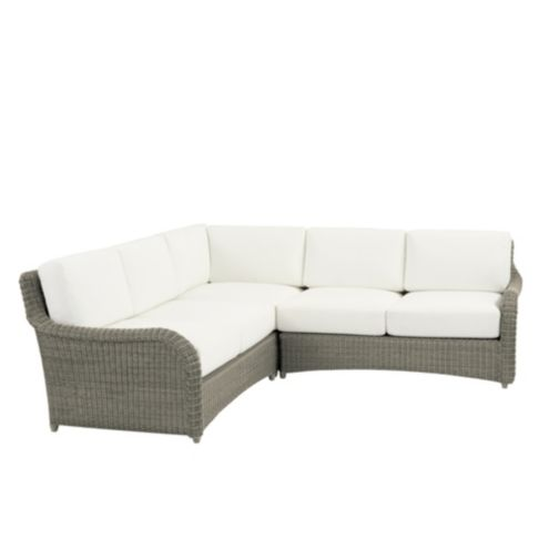 Suzanne Kasler Versailles 3-Piece Sectional with Cushions