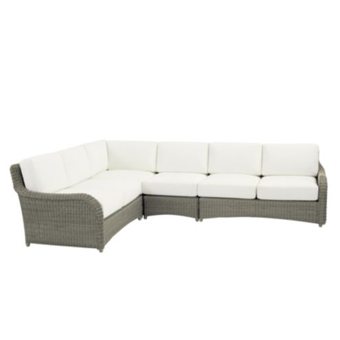 Suzanne Kasler Versailles 4-Piece Sectional with Cushions