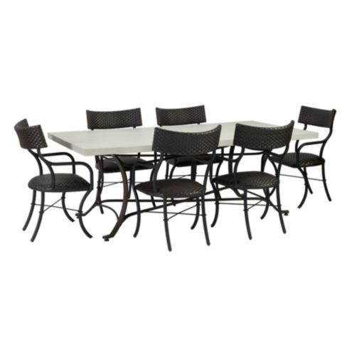 Bunny Williams La Colina 7 Piece Dining Set