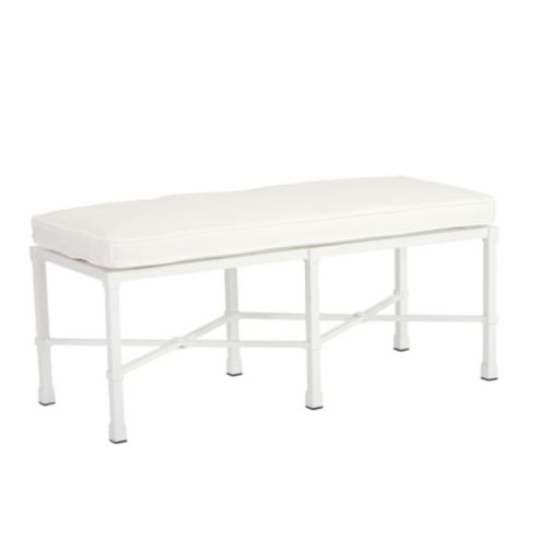 Suzanne Kasler Directoire Bench with Cushion
