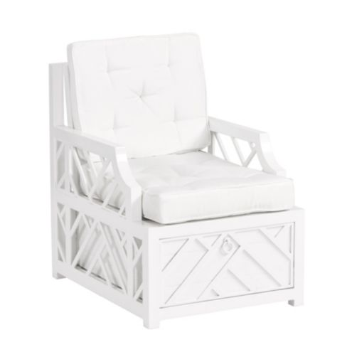 Miles Redd Bermuda Lounge Chair with Cushions