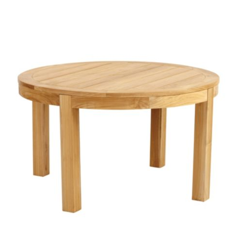 Provincetown Teak Round Chat Table