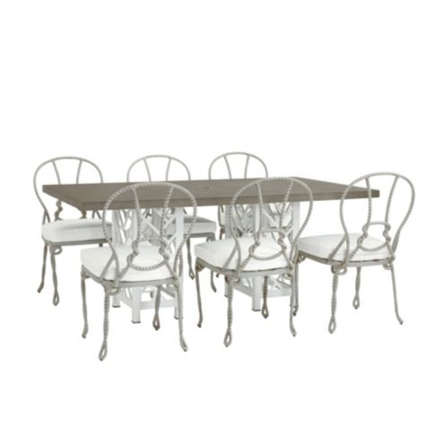 Miles Redd Bermuda 7-Piece Rectangle Dining Set
