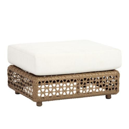 Provincetown Ottoman with Cushion