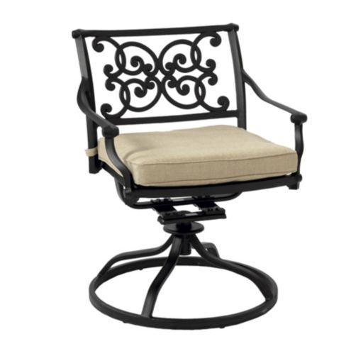Amalfi Swivel Rocker with Cushion