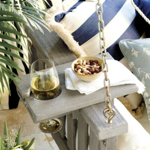 Sunday Porch Swing Sofa Tray Table