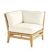 Del Mar Corner Chair with Cushions