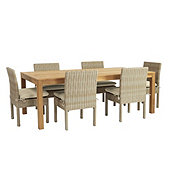 Navio 7-Piece Dining Set with Cushions