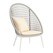Laguna High Back Lounge Chair