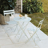 Café 3-Piece Folding Table Dining Set