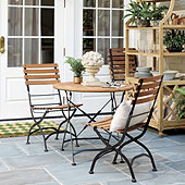 Giardino 3-Piece Café Dining Set with Side Chairs