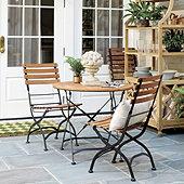 Giardino 3-Piece Café Dining Set with Side Chairs