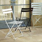 Café Folding Chairs - Set of 2