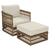 Suzanne Kasler Harbour Lounge Chair & Ottoman