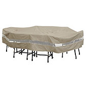Outdoor Oval/Rectangle Table & Chairs Cover - 110