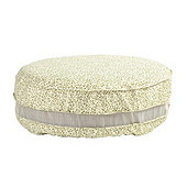 Oversized Round Ottoman Cover