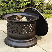 Harlake Wood Burning Fire Bowl