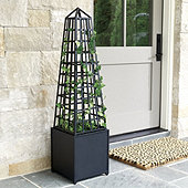 Bunny Williams Obelisk Planter