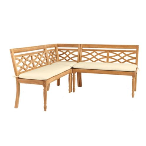 Ceylon Knife Edge 3 Piece Banquette Cushions
