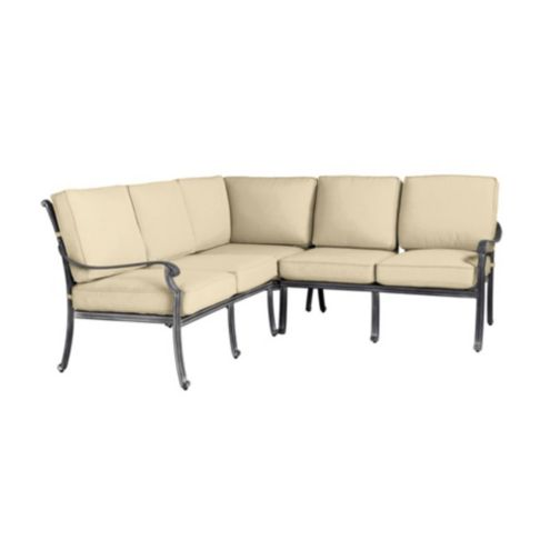 Maison Box Edge 3 Piece Sectional Cushions