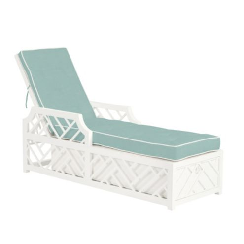 Miles Redd Bermuda Chaise Replacement Cushion Canvas Spa