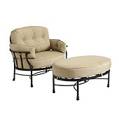 Amalfi Cuddle Chair & Ottoman Replacement Cushions