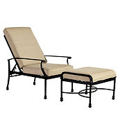 Amalfi Recliner and Ottoman Replacement Cushions