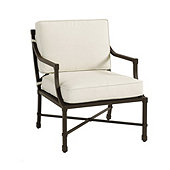 Suzanne Kasler Directoire Lounge Chair 2-Piece Replacement Cushion Set