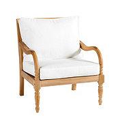 Ceylon Teak Lounge Chair 2-Piece Replacement Cushion Set