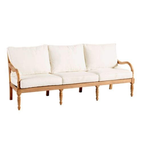 Ceylon Teak Sofa 6-Piece Replacement Cushion Set