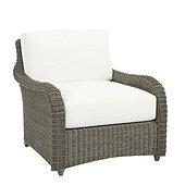 Suzanne Kasler Versailles Lounge Chair 2-Piece Replacement Cushion Set