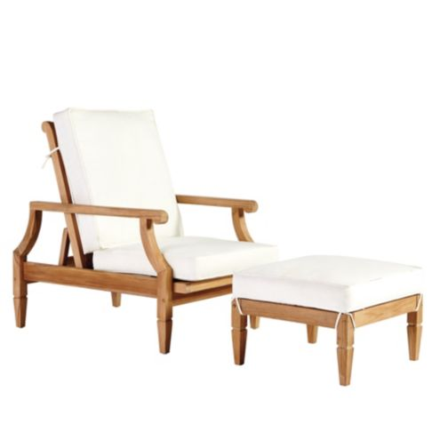 Madison Reclining Chair & Ottoman 3-Piece Replacement Cushion