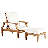 Madison Reclining Chair & Ottoman 3-Piece Replacement Cushion Set