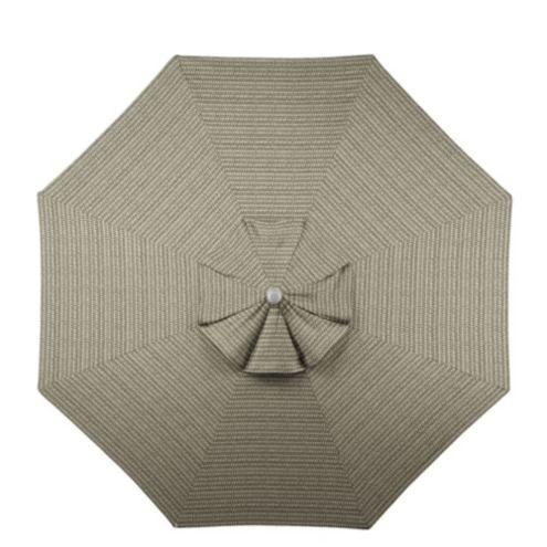11' Umbrella Replacement Canopy - Bermuda Taupe