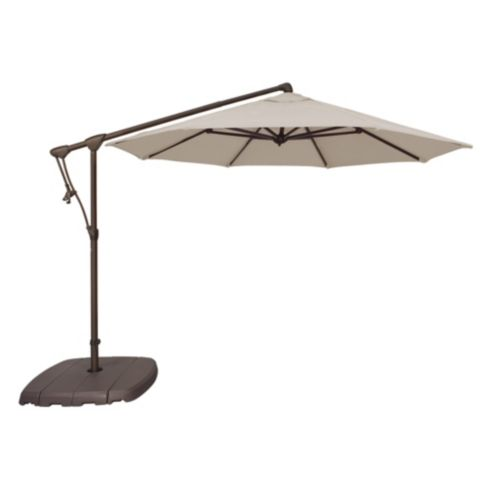 10' Octagon Cantilever Umbrella with Base