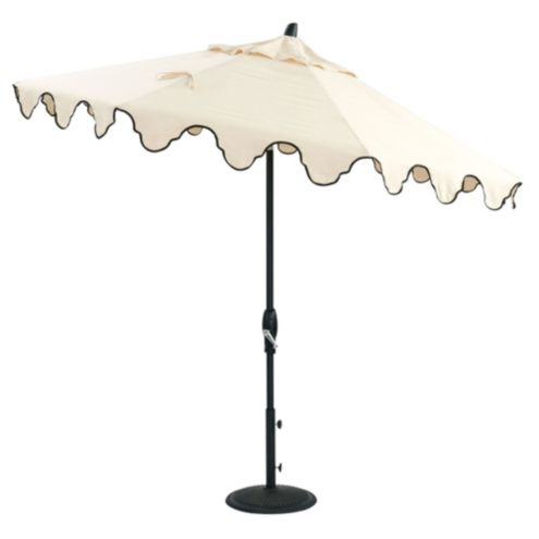 Bunny Williams Mughal Arch Patio Umbrella Replacement Canopy